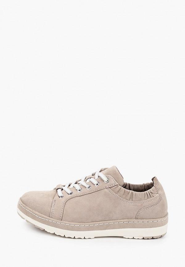 женские ботинки tamaris pure relax, бежевые