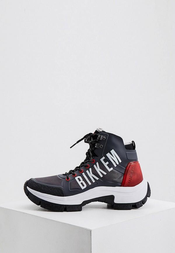 мужские кроссовки bikkembergs, серые