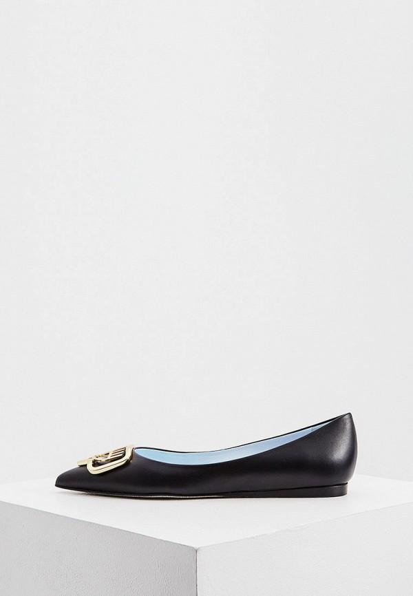 женские туфли chiara ferragni, черные