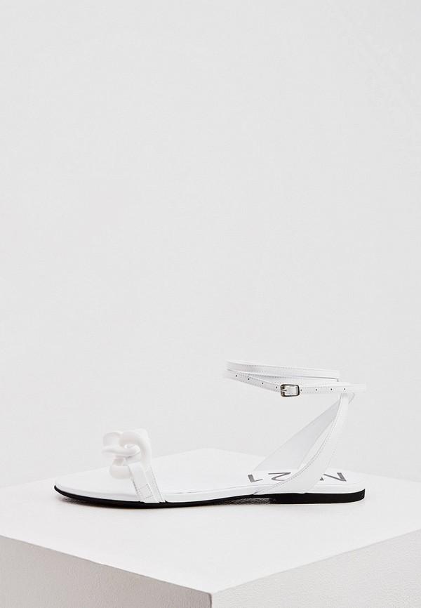 женские сандалии n21, белые