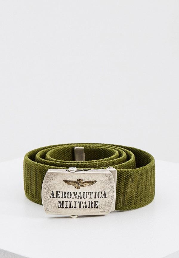 мужской ремень aeronautica militare, хаки