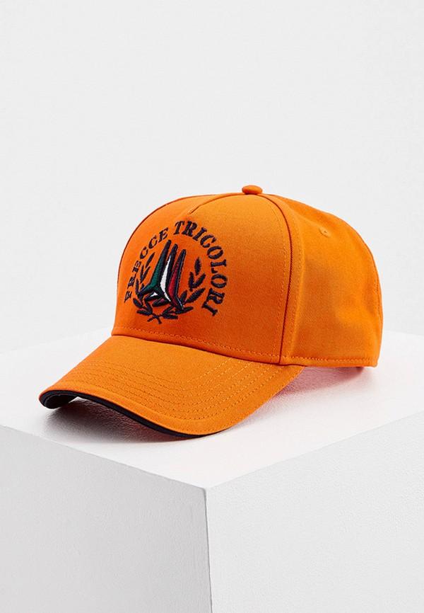 мужская бейсболка aeronautica militare, оранжевая