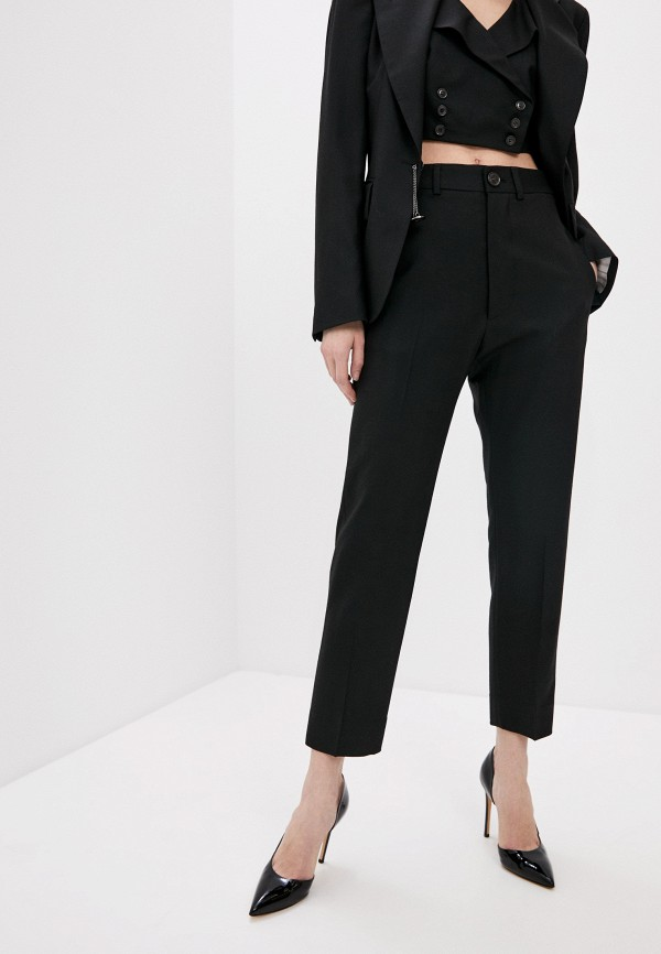 женские повседневные брюки vivienne westwood, черные