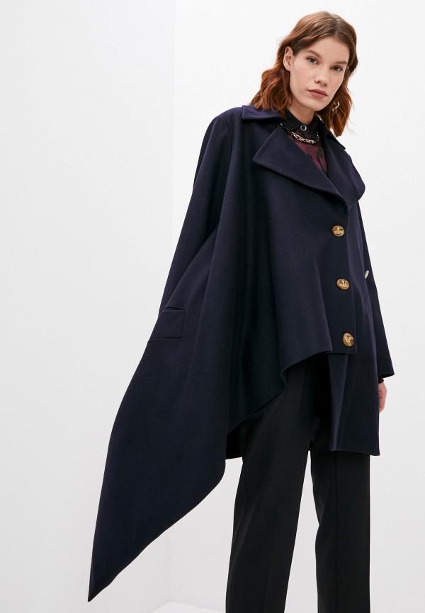 женское пальто vivienne westwood, синее