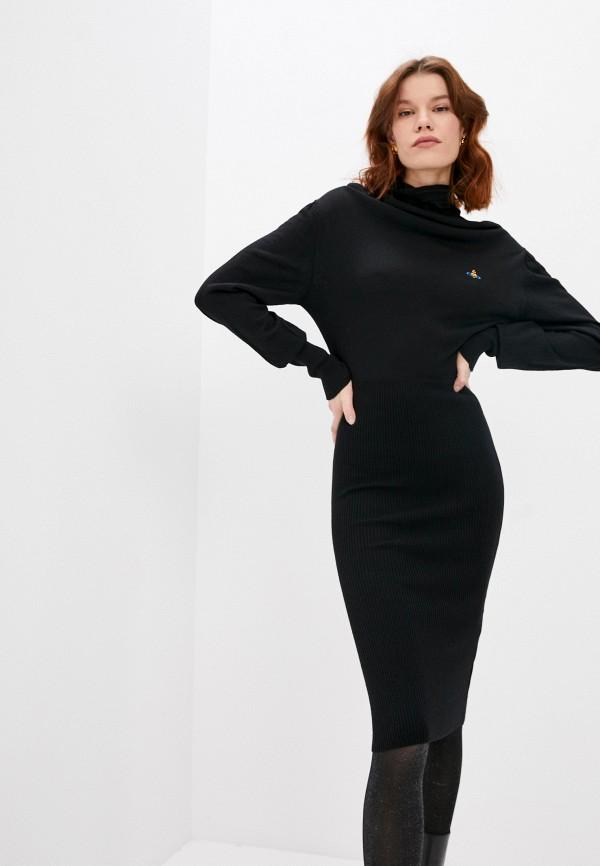 женское платье vivienne westwood, черное