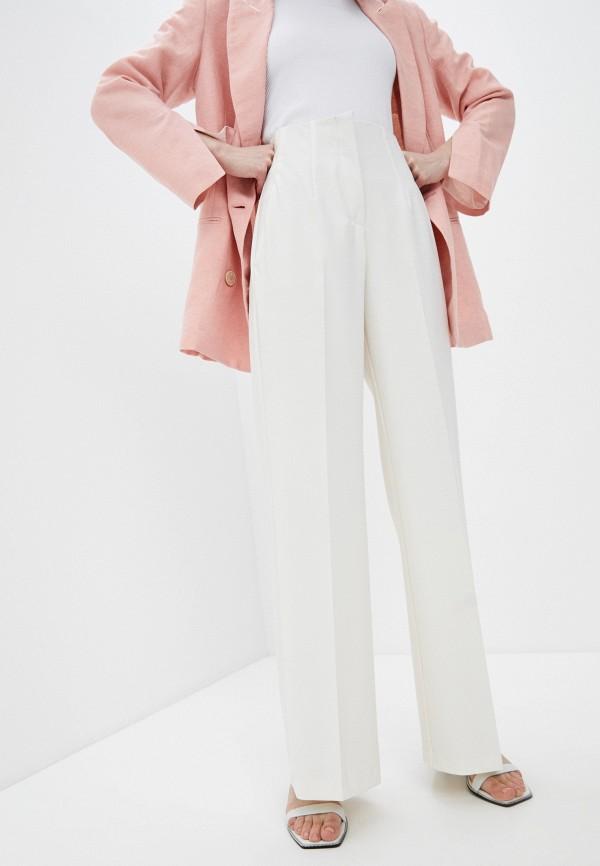 женские повседневные брюки beatrice.b, белые