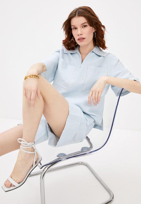 женская блузка beatrice.b, голубая