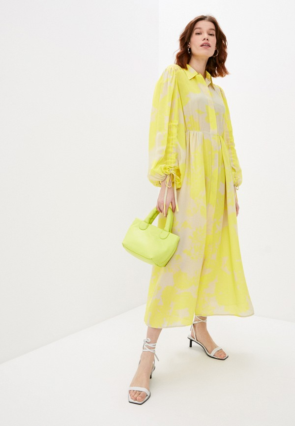 женское повседневные платье beatrice.b, желтое