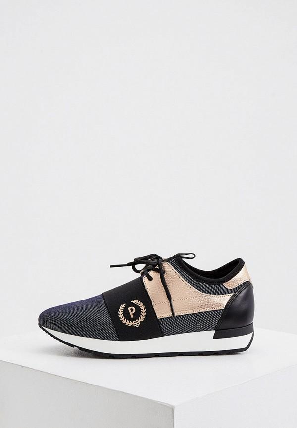 женские кроссовки pollini, черные