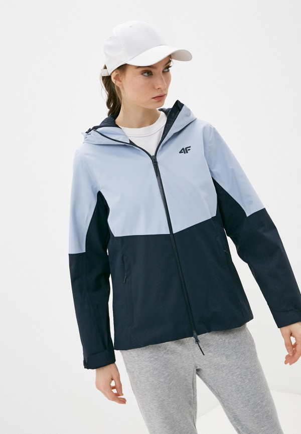 женская куртка 4f, синяя