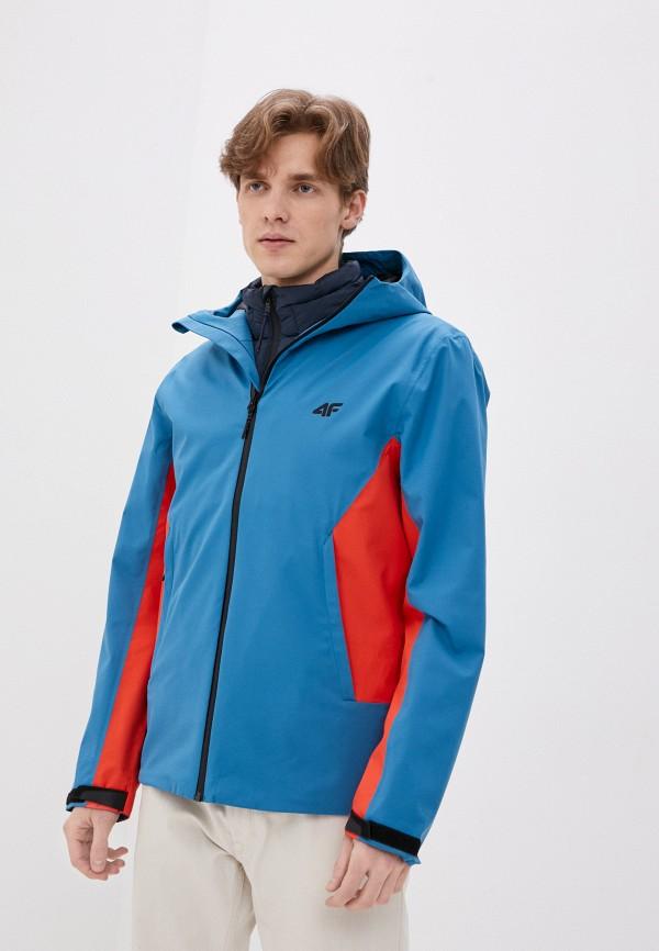 мужская куртка 4f, голубая