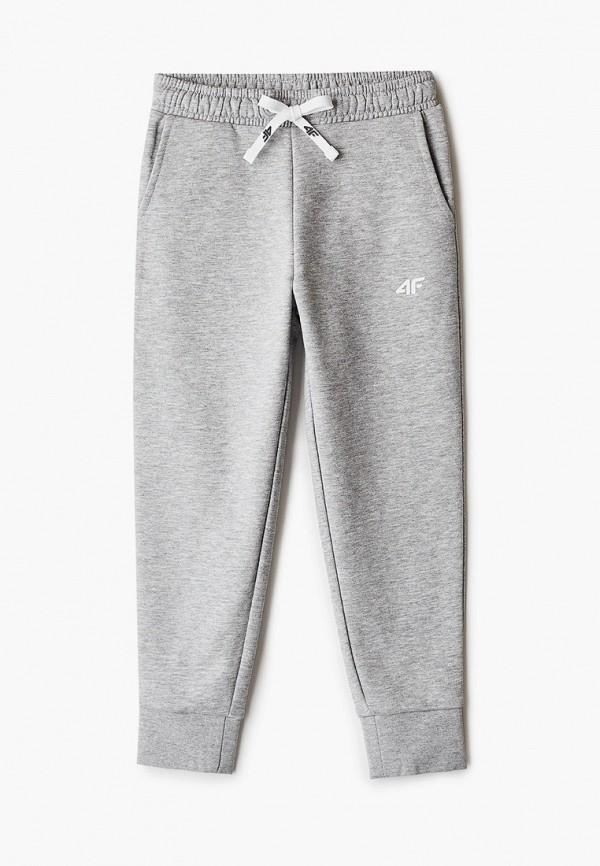 спортивные брюки 4f для девочки, серые