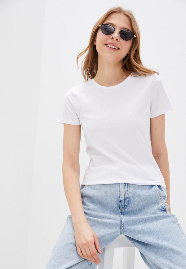 женская спортивные футболка outhorn, белая