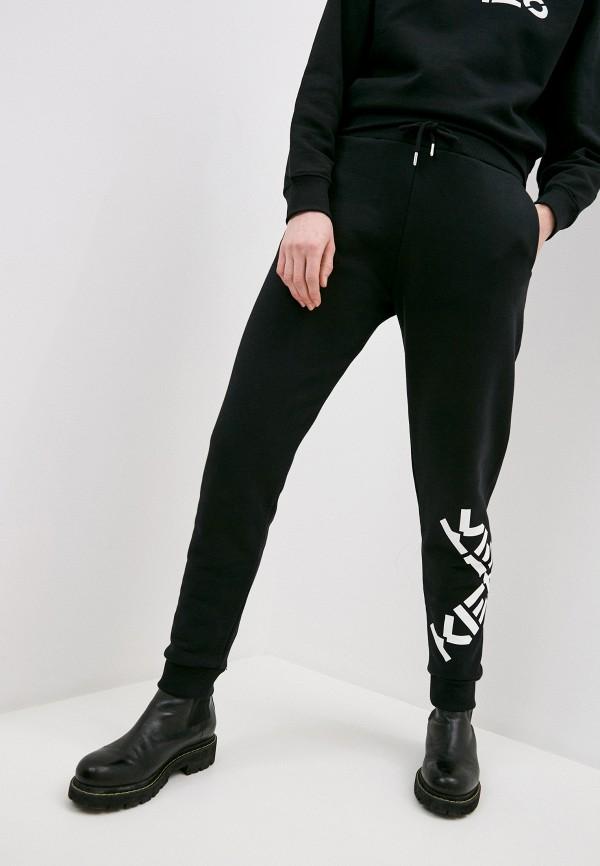 женские спортивные брюки kenzo, черные