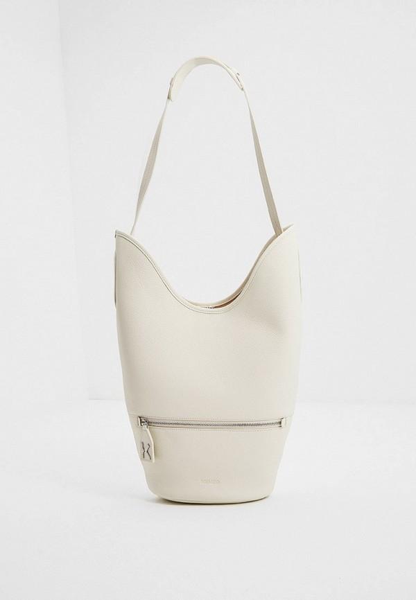 женская сумка kenzo, белая