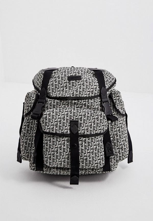 женский рюкзак kenzo, серый