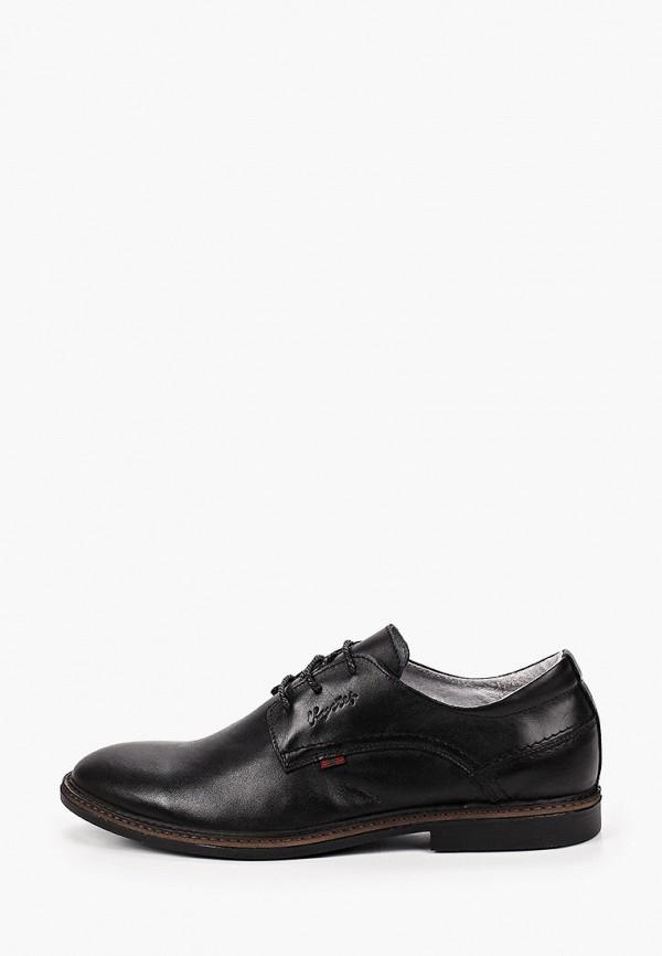 мужские туфли flystep, черные