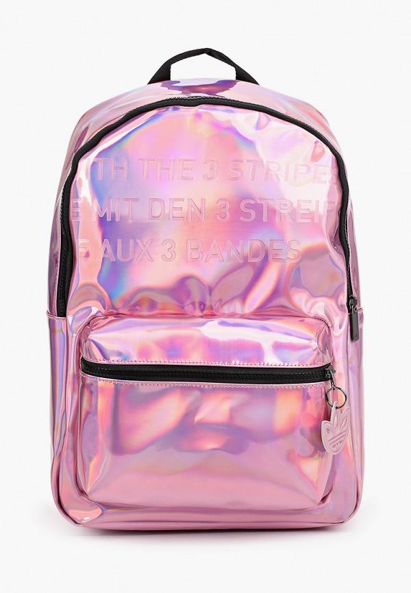 женский рюкзак adidas, розовый