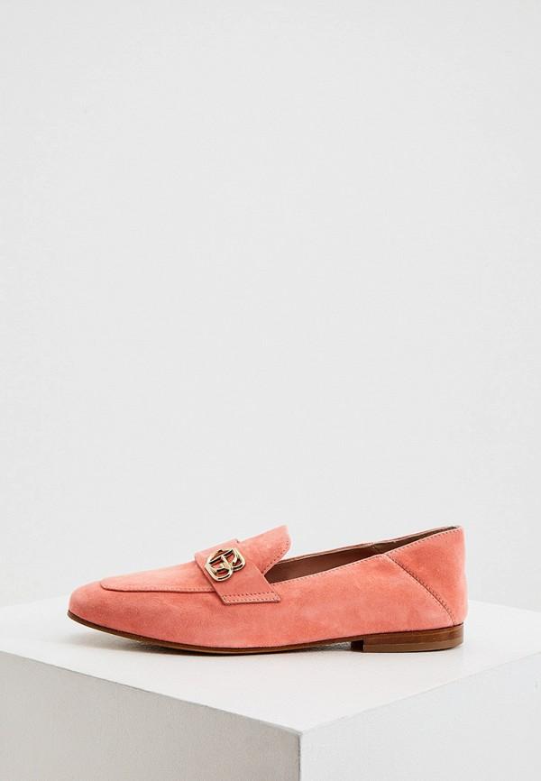 женские лоферы baldinini, розовые