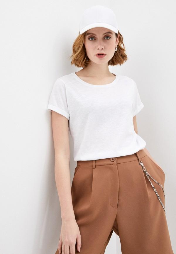 женская футболка juvia, белая