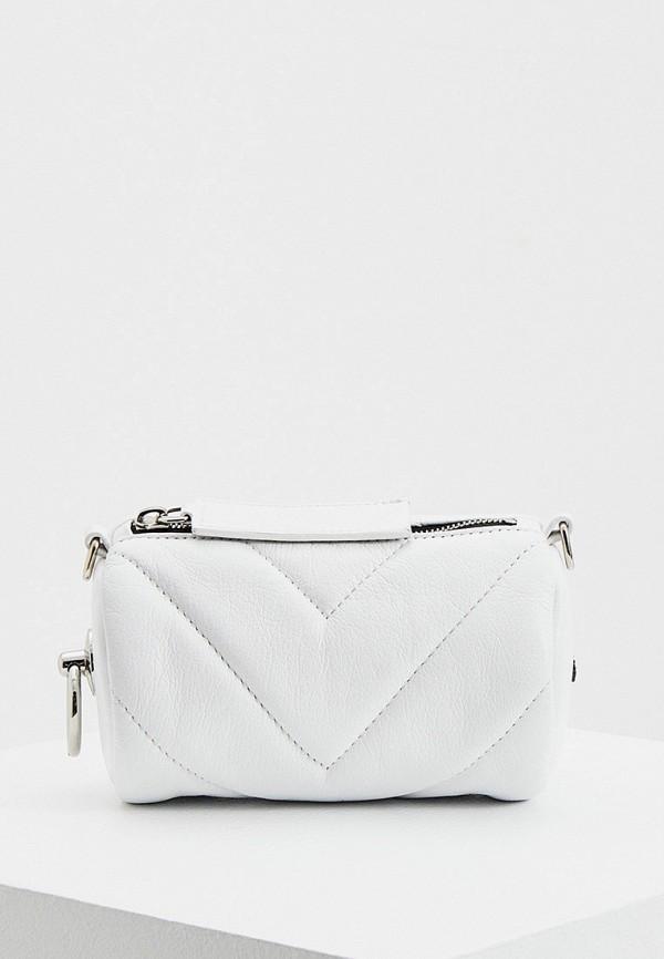 женская сумка vic matie, белая