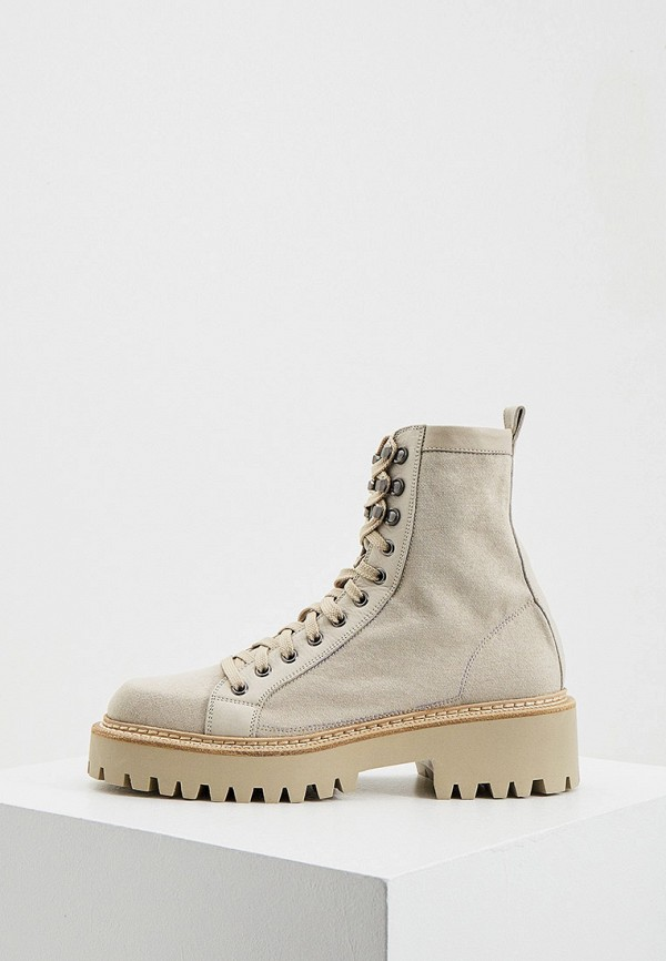 женские ботинки vic matie, бежевые