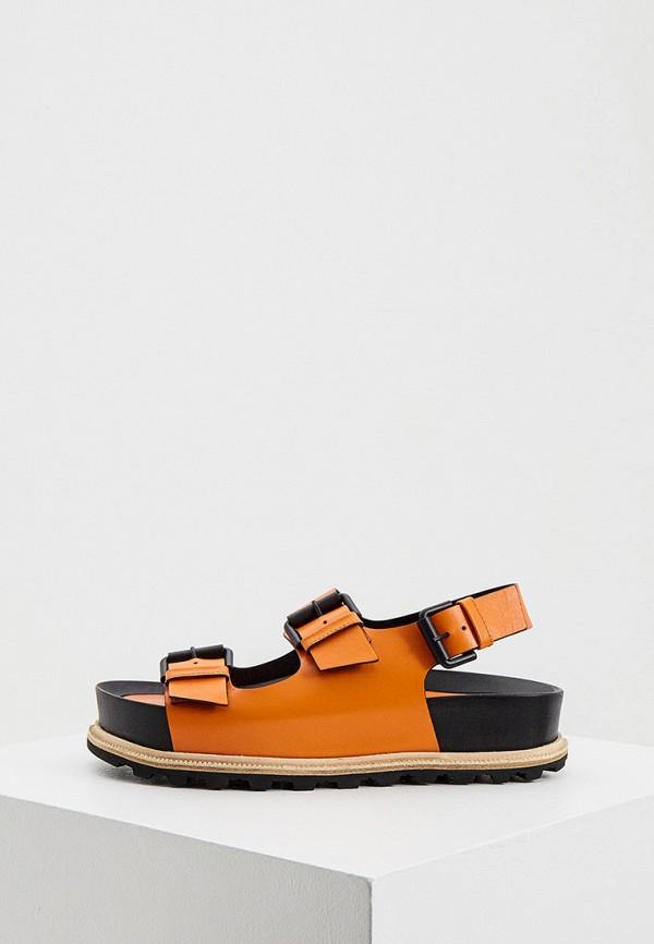 женские сандалии vic matie, оранжевые