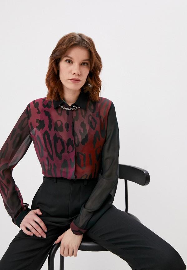 женская блузка just cavalli, разноцветная