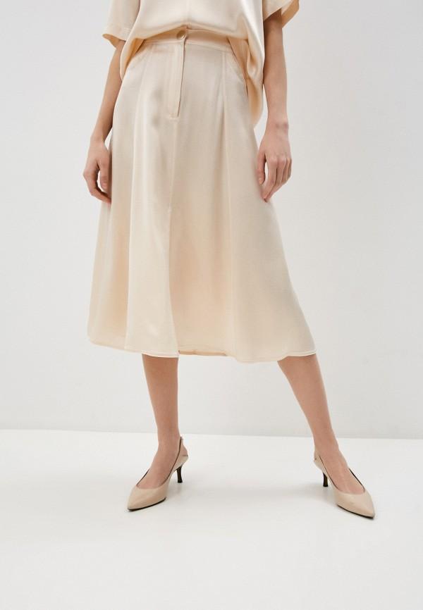 женская юбка forte forte, бежевая