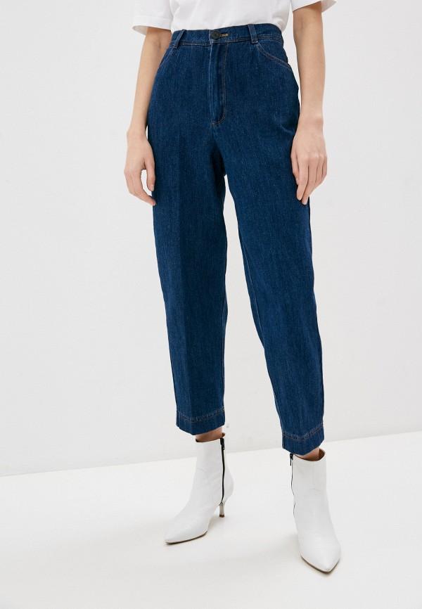 женские прямые джинсы forte forte, синие