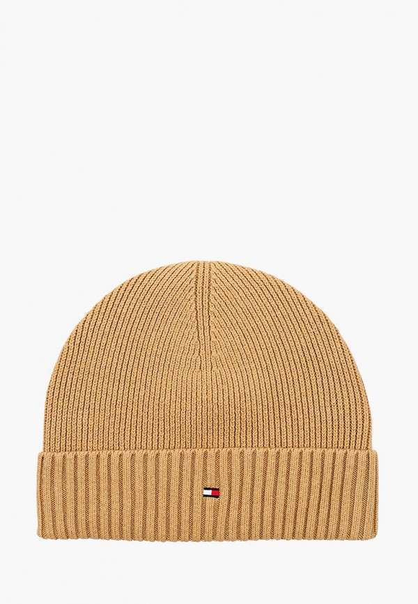 мужская шапка tommy hilfiger, бежевая