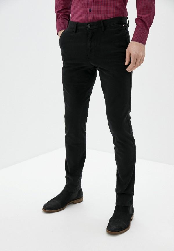 мужские брюки чинос tommy hilfiger, черные