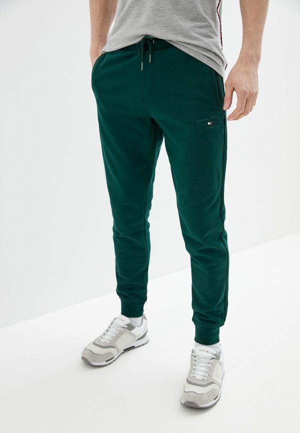 мужские спортивные брюки tommy hilfiger, зеленые