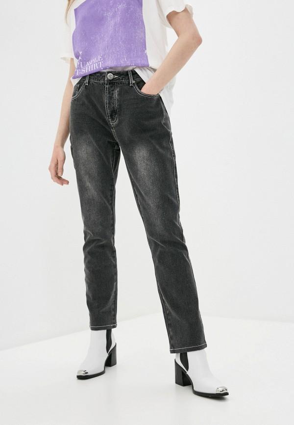 женские прямые джинсы one teaspoon, серые