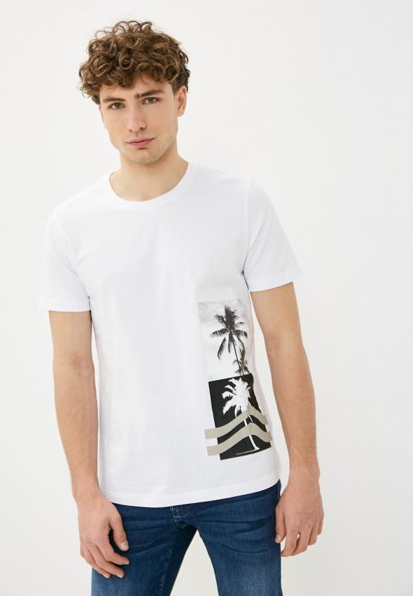 мужская футболка antony morato, белая