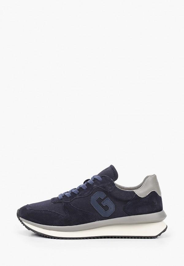 мужские кроссовки guess, синие