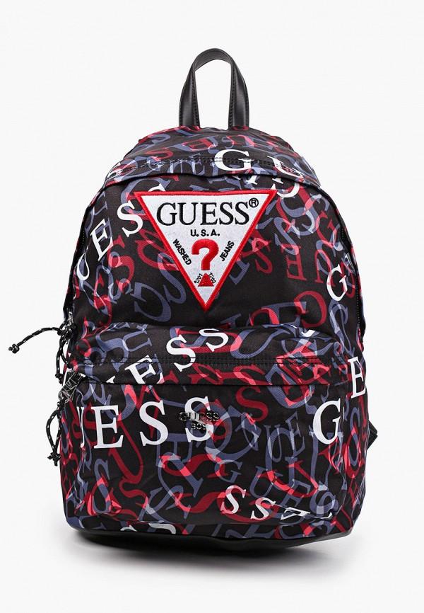 рюкзак guess для мальчика, черный