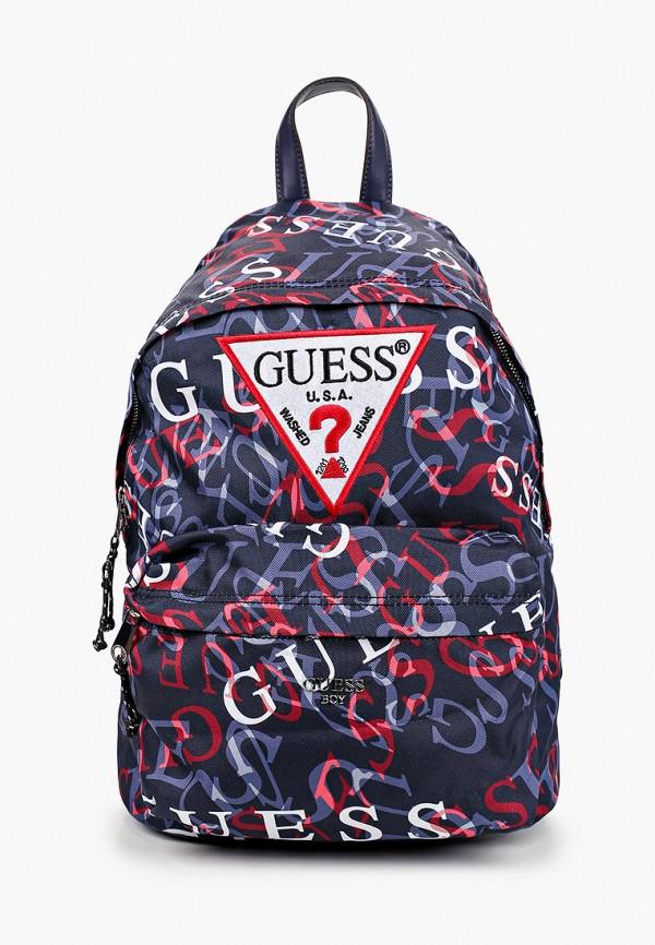 рюкзак guess для мальчика, синий