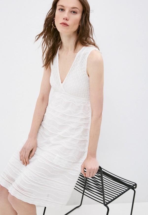 женское повседневные платье m missoni, белое