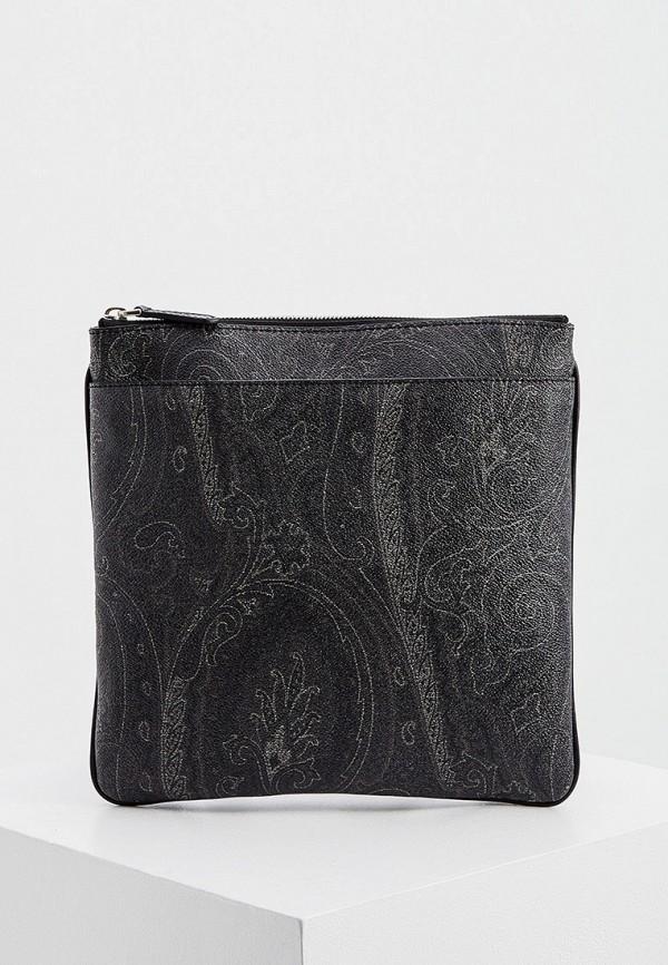 мужская сумка etro, серая