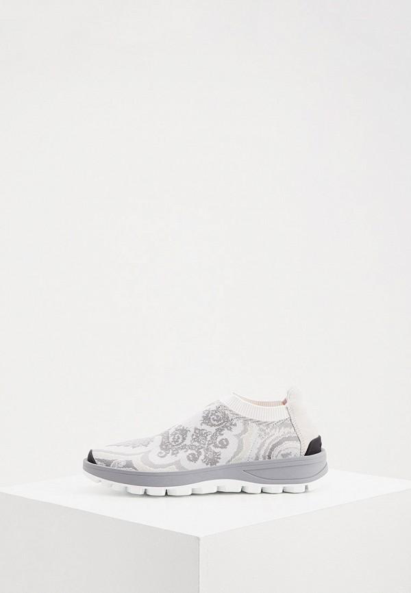женские кроссовки etro, белые