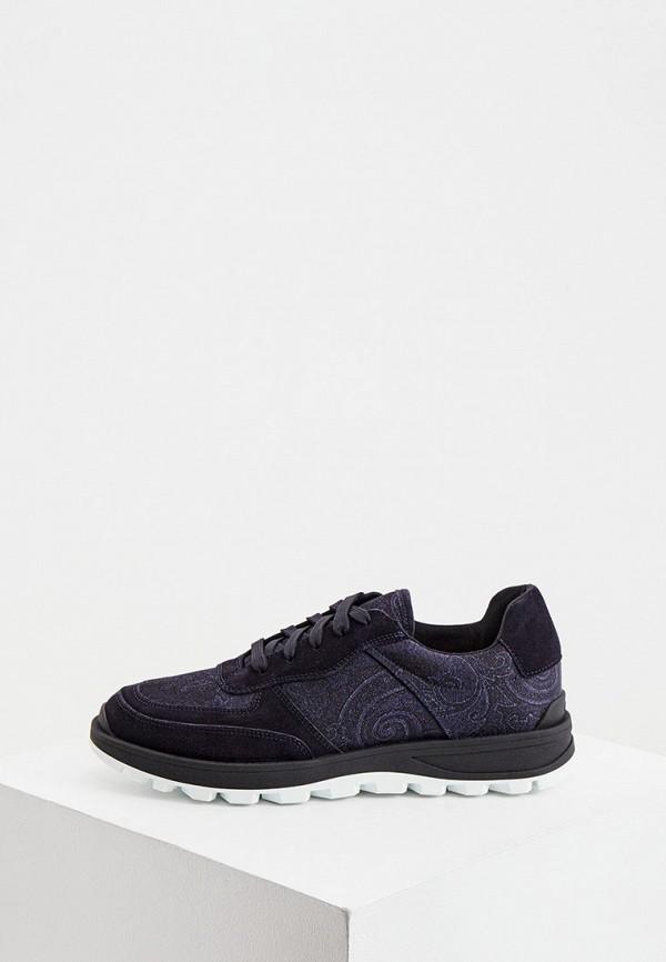 мужские кроссовки etro, синие