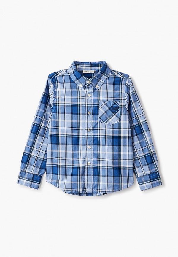 рубашка ovs для мальчика, синяя