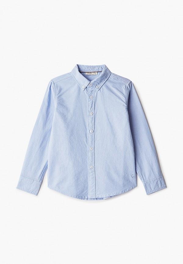 рубашка ovs для мальчика, голубая