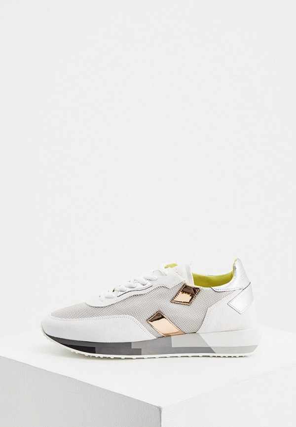 женские кроссовки ghoud venice, серебряные