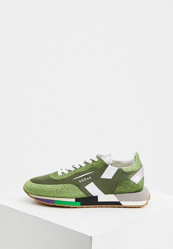 женские кроссовки ghoud venice, зеленые