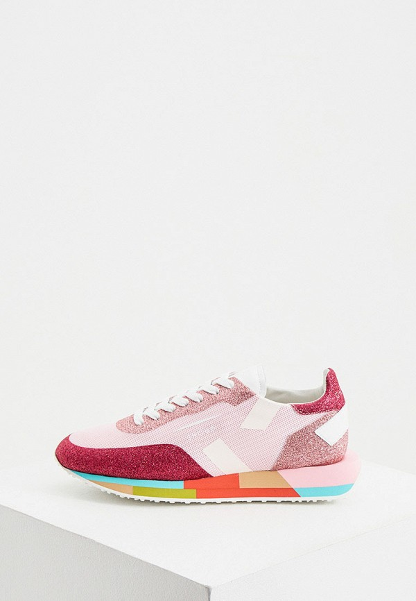 женские кроссовки ghoud venice, розовые