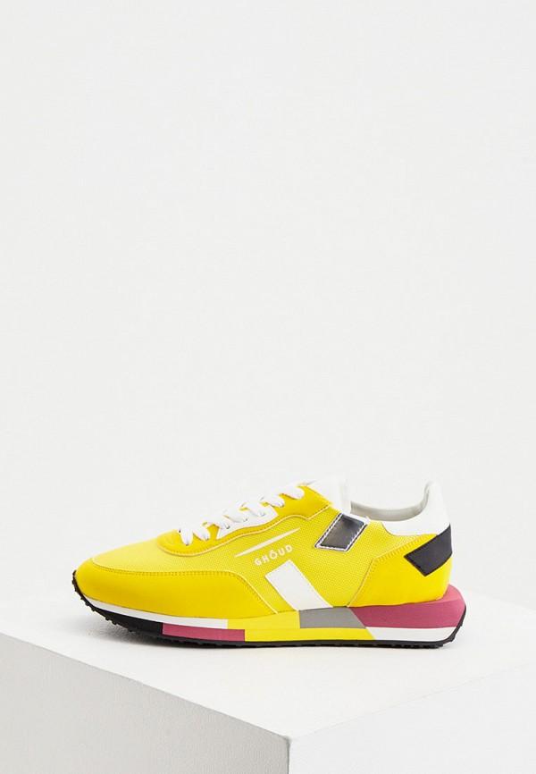 женские кроссовки ghoud venice, желтые
