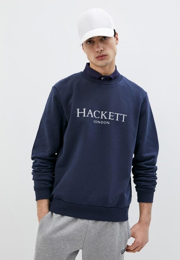 мужской свитшот hackett london, синий