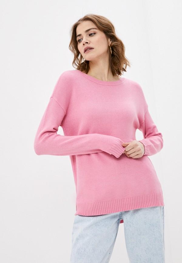 женский джемпер vila, розовый